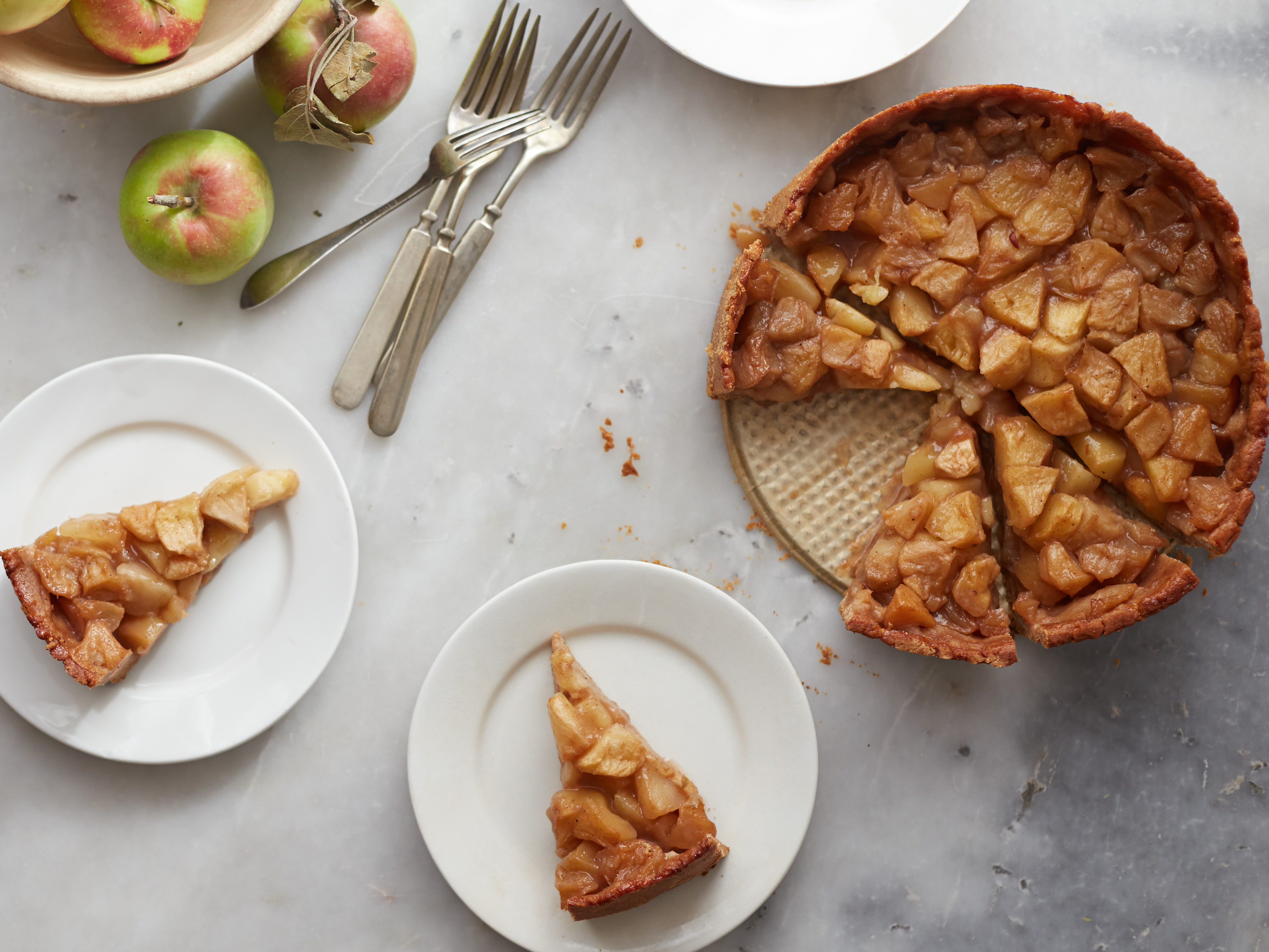 Receta: Tarta de manzana holandesa