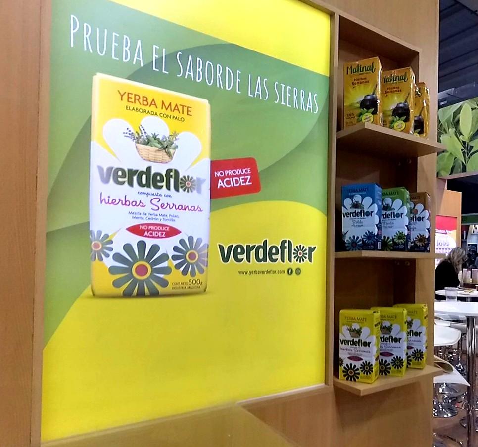 Verdeflor estuvo presente en Espacio Food & Service 2017 en Chile